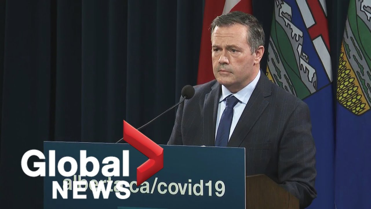 We were wrong Alberta Premier announces new restrictions as COVID19 slams hospitals  FULL
