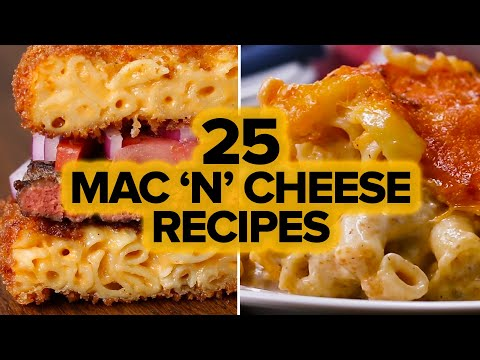Renee - 25 Recipes: It's National Mac N'Cheese Day!