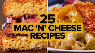 25 mac n cheese recipes