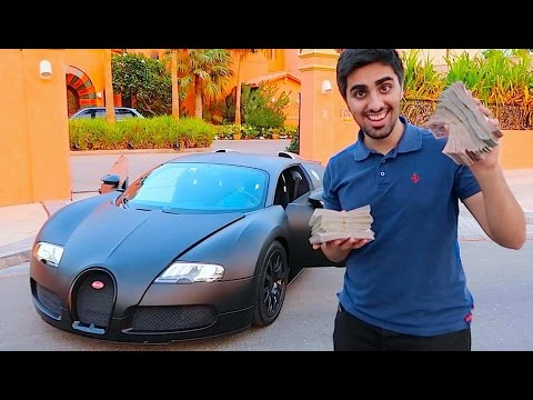 Paying CASH for a New Bugatti !!!