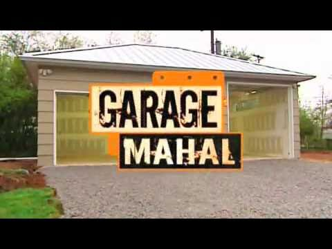 Garage Mahal makeover featuring Tuff Seal Tile - YouTube