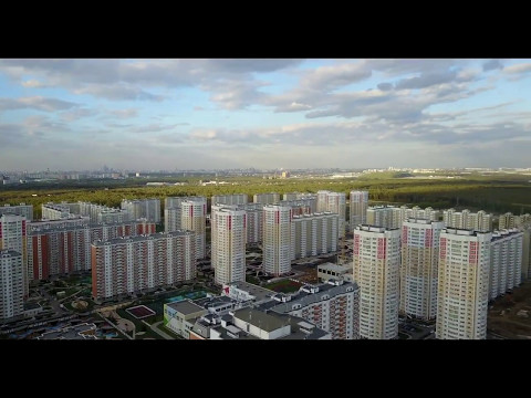 Первый московский город-парк. Московский 13 мая 2017 г.