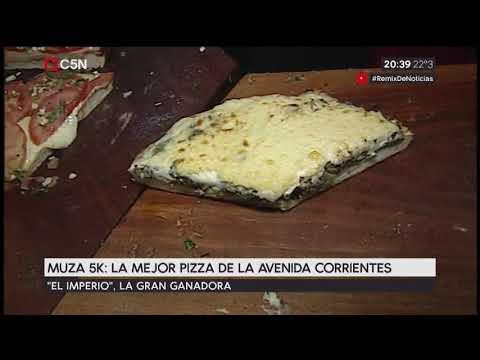 Muza 5 K: La mejor pizza de la avenida Corrientes