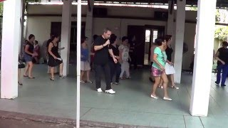 ABRAZAME AMOR Line Dance @ Le Port, Reunion Island