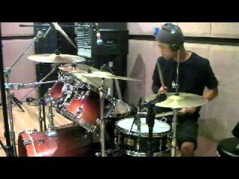 Turning back ~ Standing still / HI-Standard ドラムカバー