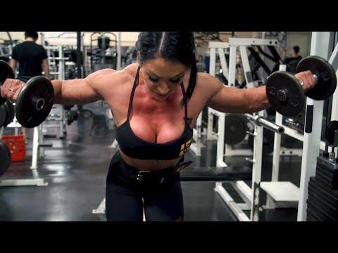 MUTANT - IFBB Pro Azaria Glaim - Shoulders!!!