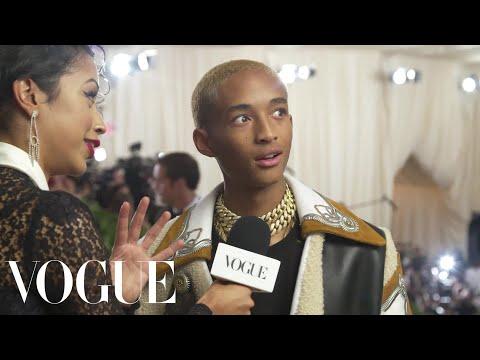 Jaden Smith on His Cozy Look for the Met Gala | Met Gala 2018 With Liza Koshy | Vogue
