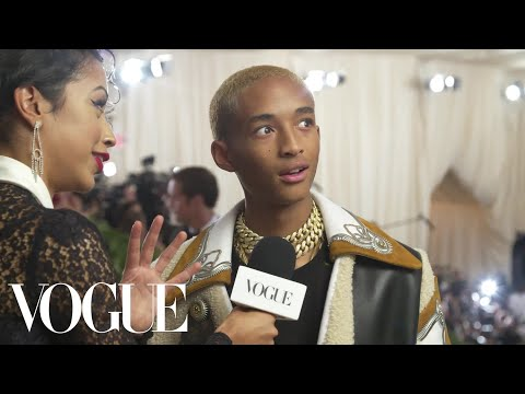 Jaden Smith on His Cozy Look for the Met Gala   Met Gala 2018 With Liza Koshy   Vogue