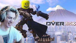 xQc spielt Roblox Arsenal und Roblox Overwatch!