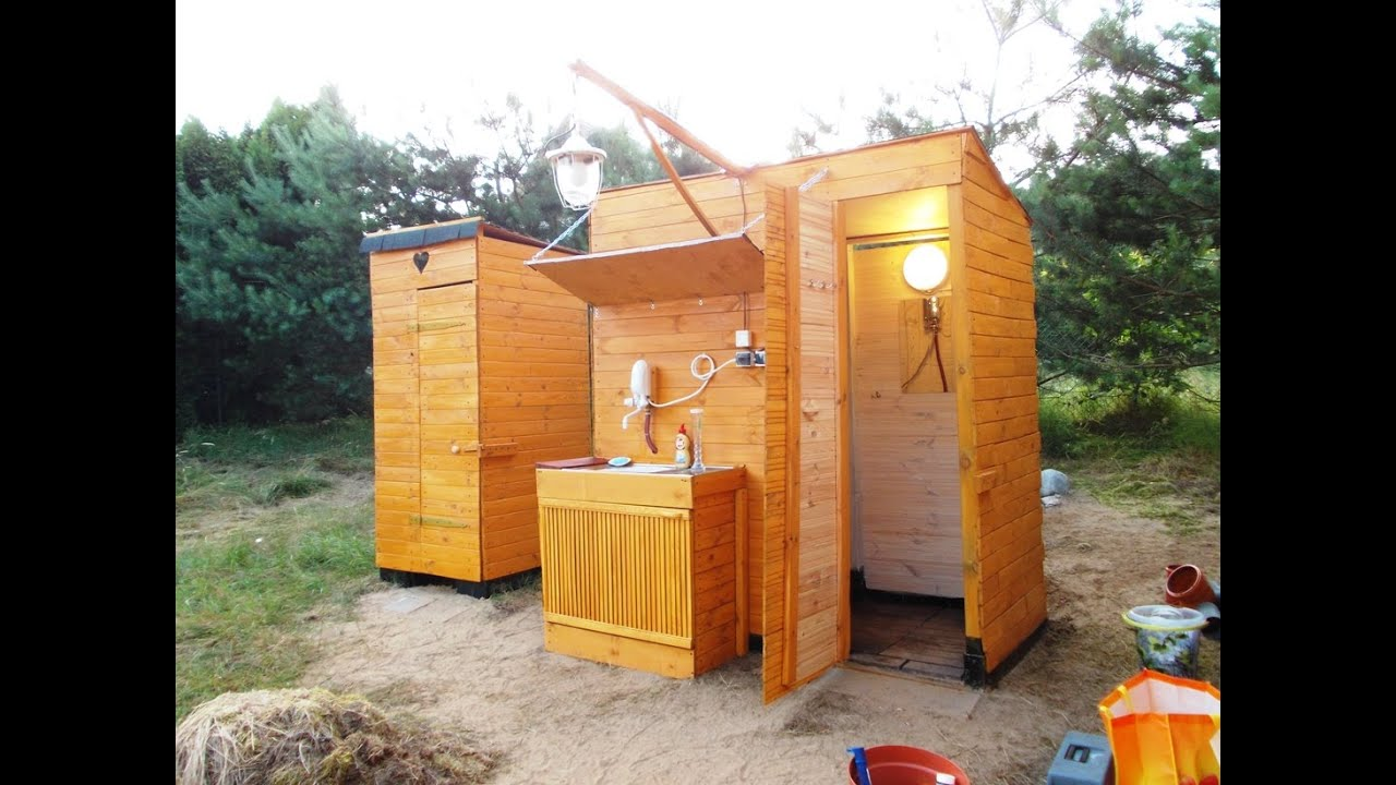 outdoor shower ideas for camping