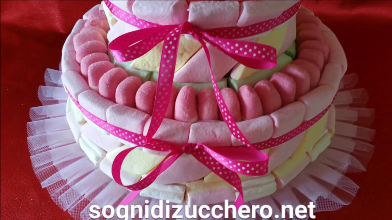 Torta marshmallow - torte compleanno