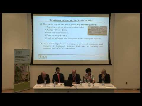 Building the Case for Sustainable Transportation in the Arab World - Session 1