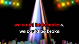Justin Bieber - As long as you love me [karaoke]