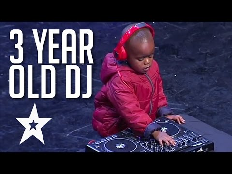 3 Year Old DJ Has The Crowd On Their Feet | Got Talent Globa