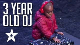 �������� ���� 3 Year Old DJ Has The Crowd On Their Feet | Got Talent Global ������