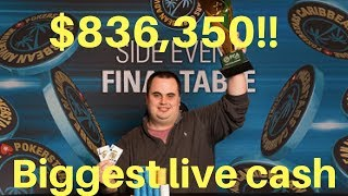 Christopher Kruk Wins his Biggest Live Poker Tournament for $836,350