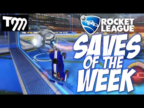 Rocket League - TOP 10 SAVES OF THE WEEK #35