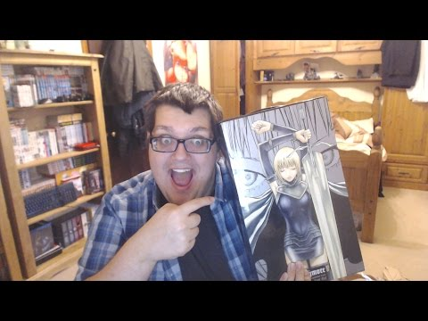 claymore-volume-1-27-complete-boxet-unboxing!!-クレイモア