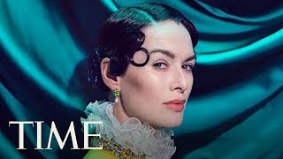 'Game Of Thrones' Actress Lena Headey Channels Royalty On Set Of Her TIME Cover Shoot | TIME