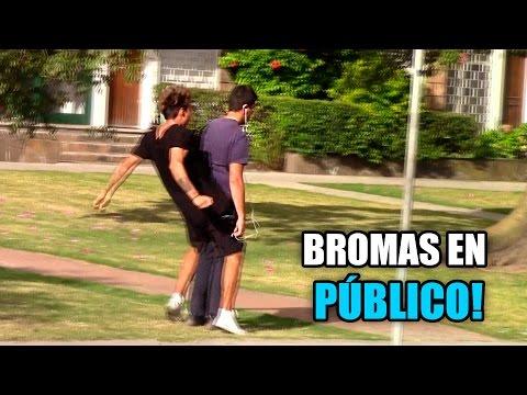 BROMAS Y LOCURAS EN PÚBLICO!