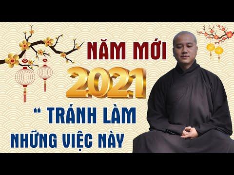 Làm Ngay Những Điều Này để bớt TẠO NGHIỆP năm mới 2021 - Thầy Thích Pháp Hòa (rất hay)