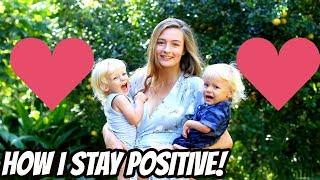 HOW I STAY POSITIVE: TEEN MOM OF 3 IN HAWAII