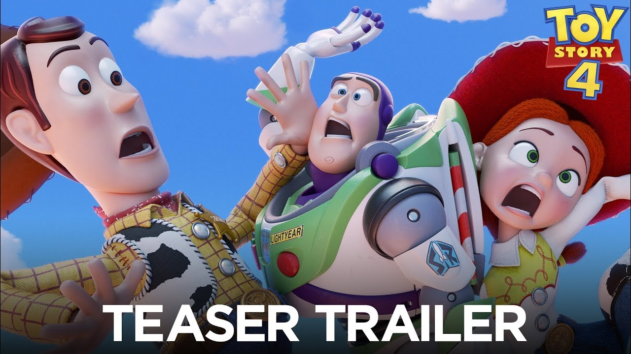 Toy Story 4 Official Teaser Trailer Youtube