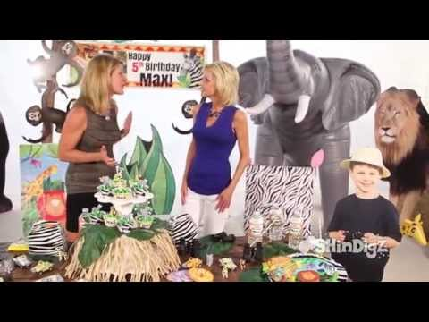 How to Host a Jungle Safari Party - Shindigz Party Supplies Decor