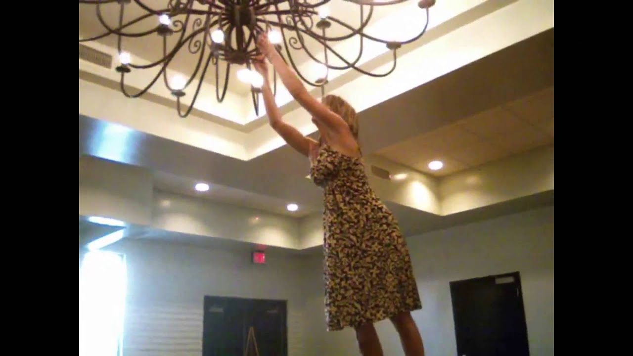 I Want To Swing Sia Chandelier Fail