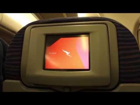Qantas Flight Experience: QF41 Jakarta to Singapore