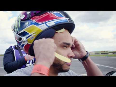 Giving Nic Hamilton a taste of RX power!