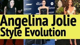 Angelina Jolie Style Evolution: Red Carpet Fashion