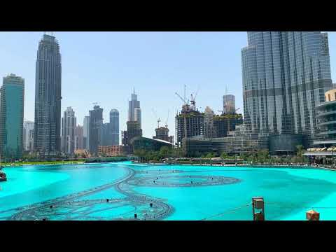 [Dubai] Fountain Show (feat. Baby Shark)