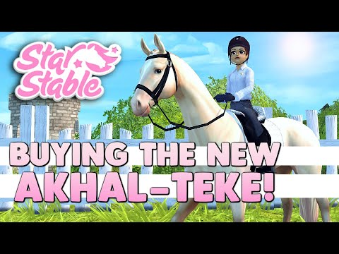 Buying the NEW Akhal-Teke - Star Stable 🐴💕
