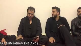 Gambar cover Ghar Aa Ja Veerna Muk   SAYYED ZAIRE NAQVI   Reciting New Vichorra at IMI Hussainia Birmingham