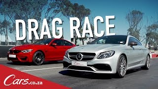 Drag Race | BMW M4 Competition vs Mercedes AMG C63 S Coupe