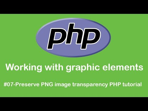 Preserve PNG image transparency PHP tutorial -