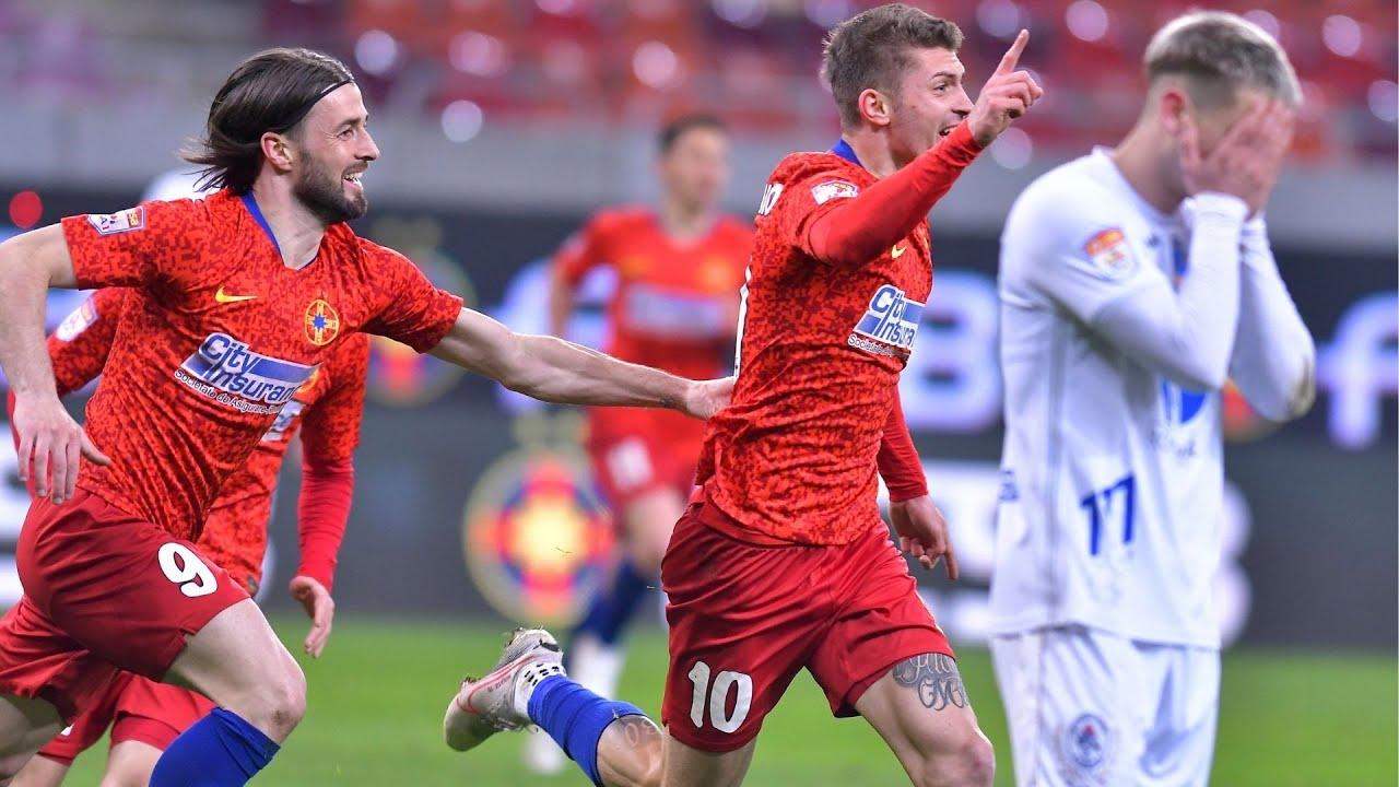 REZUMAT | Victorie dramatică, la ultima fază. FCSB - Gaz Metan Mediaș (1-0).  Gol -  Florin Tănase