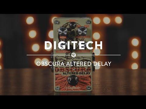 Digitech Obscura Altered Delay | Reverb Video Demo