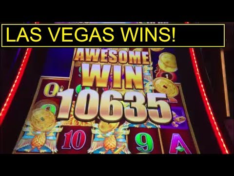 AWESOME WINS! in LAS VEGAS! MAX BETS!