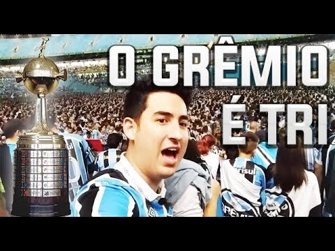 FAN FEST NA ARENA DO GRÊMIO - FINAL LIBERTADORES 2017    O GRÊMIO É TRI!