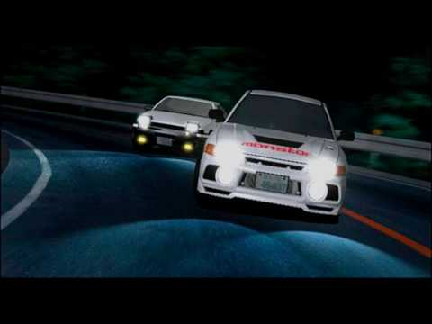 Initial D Second Stage All Racing Songs (Eurobeat)