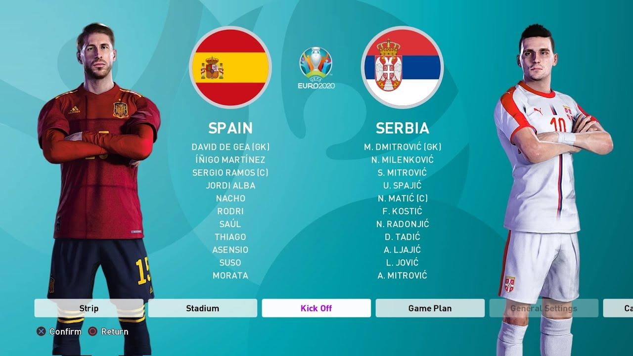 1/2 FINALE EVROPSKOG PRVENSTVA! - EVROPSKO PRVENSTVO SA SRBIJOM #6 - PES EURO 2020 MODE