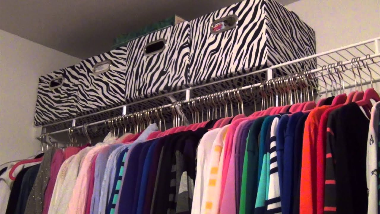 Master Bedroom Closet Organization on a Budget: Before & After ...