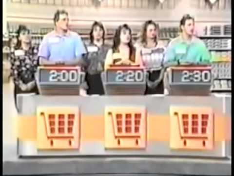 Supermarker Sweep - Carla & Jeff vs. Trudy & Lisa vs. Janna & Brian (1993)