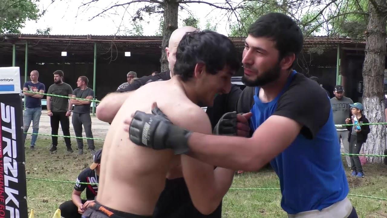 БОЙ Двух мощных Кавказских бойца без правил !!!