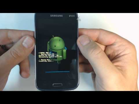 Samsung Galaxy Core I8262 - How to remove pattern lock by hard reset
