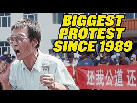 China's Massive Civil Disobedience Movement