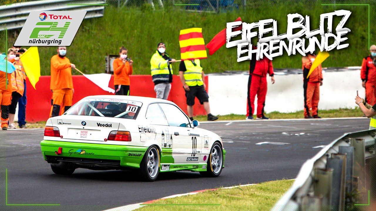 Eifelblitz Runde zu Ehren von Sabine Schmitz | ADAC TOTAL 24h-Rennen am Nürburgring