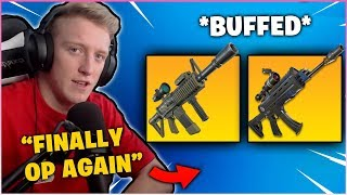 TFUE Reacts to *NEW* SCOPE AR & THERMAL AR *CROSSHAIR BUFFED*!